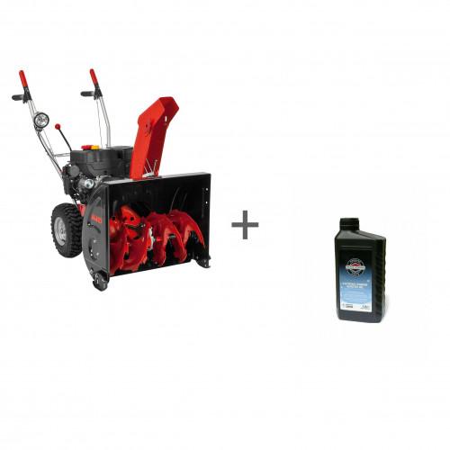 Снегоочиститель бензиновый AL-KO SnowLine 620E II + масло в подарок!