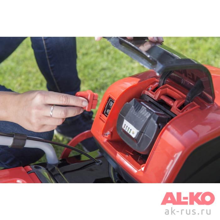 Газонокосилка аккумуляторная AL-KO 46.9 Li SP + акк. + з/у (комплект)