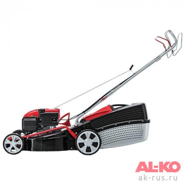Газонокосилка бензиновая AL-KO Classic 4.66 SP-A Промо-набор
